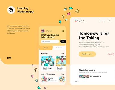 Learning Platform App