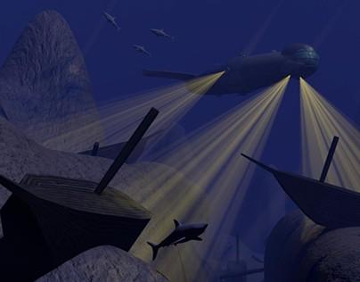 Undersea Graveyard