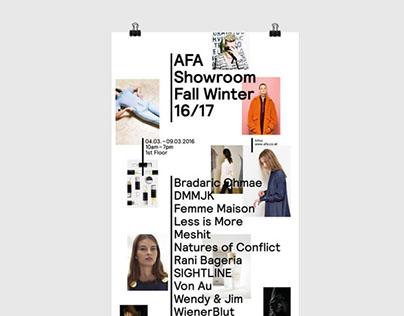 AFA Showroom Fall Winter 16/17