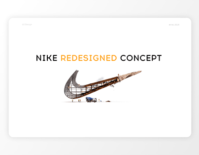 NIKE Online store concept