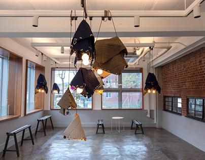 Origami Fabric Lamp