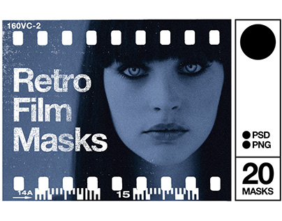 Retro Film Masks