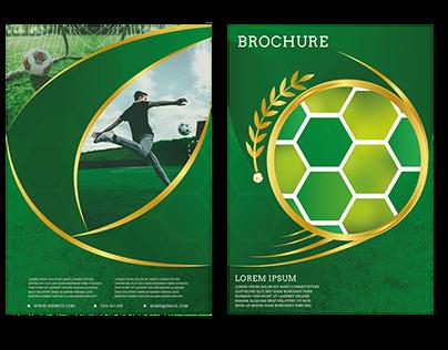 Football Brochure Concept