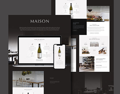 MAISON WINE | Rework Wine Section