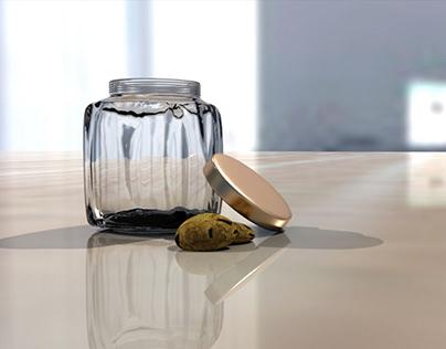 Cookie Jar - 3D