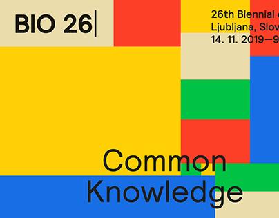 BIO 26 - Biennale del Design di Lubiana