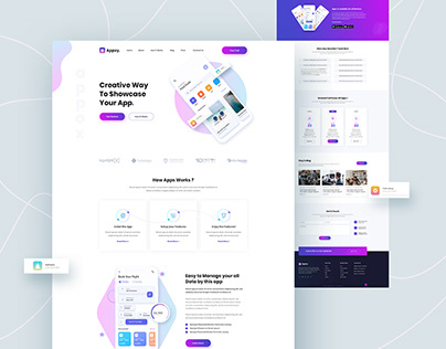 Appxy_App landing page