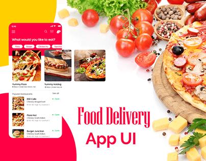 Explore 360 caFe online food ordering app UI