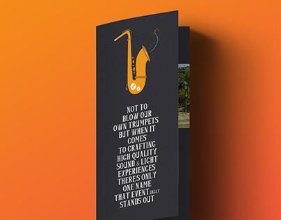 Bifold Brochure Design - Rock Salad