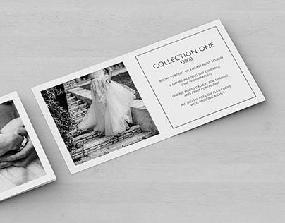 Photography Marketing Slip Cards