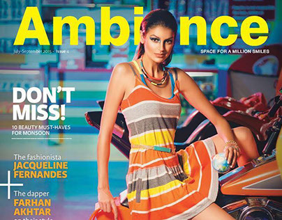 Ambience july - september 2015 -issue 4