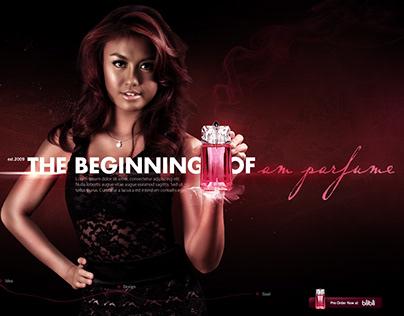 AM PERFUMES website