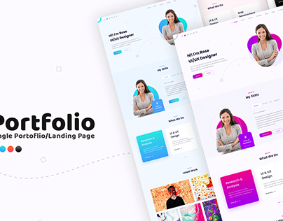 Single Portfolio Page