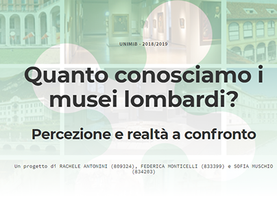 Museums in Lombardy | Data journalism and infographics