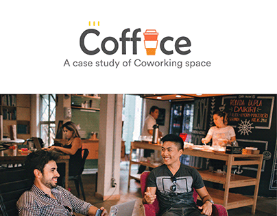 Coffice Coworking Concept - UX Case study