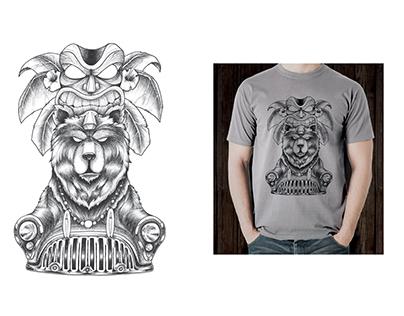 Bear Surfboards | Realizzazioni grafiche T-shirt