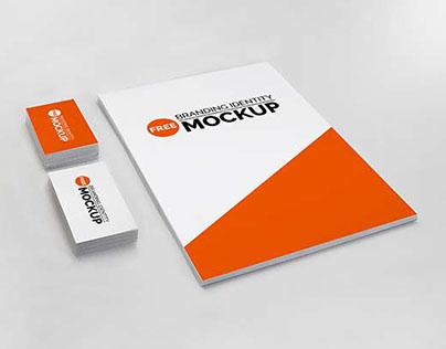 Branding Identity Mock-Up Free