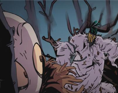'The Spider King' teaser trailer