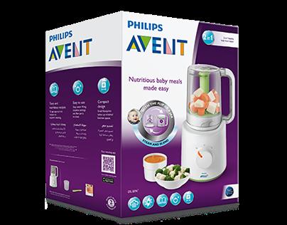 Avent baby food prep packaging