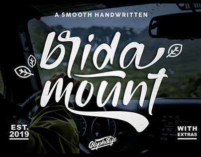 FREE | Bridamount Smooth Handwritten Font