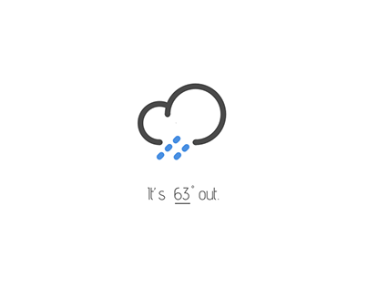 Clime Weather App Design