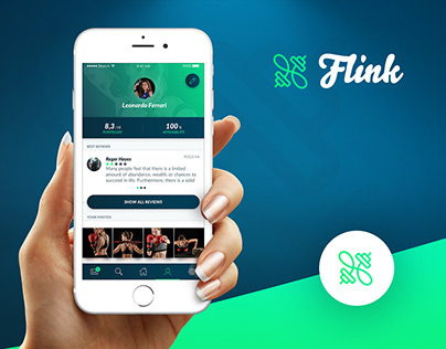 Flink - Fitness App Design