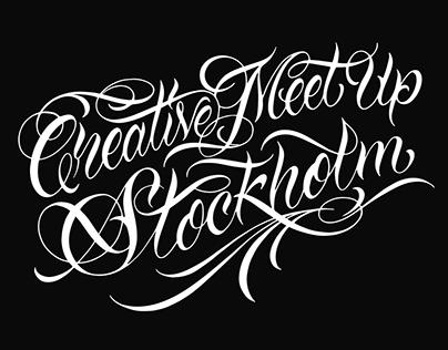 Creative Meet Up – Stockholm 2015