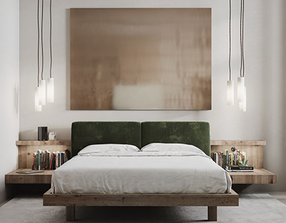 Pale and shaded (second part - bedroom)
