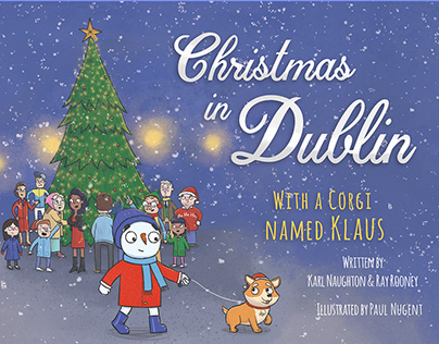 Christmas in Dublin Picture Book