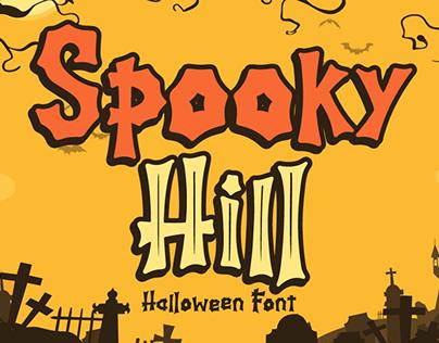 Spooky Hill | Halloween Font