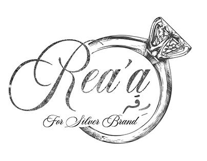 logo for a Accessories brand ( silver )