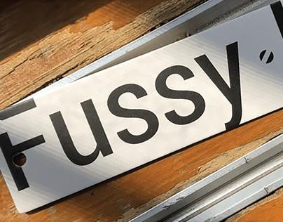 Fussy in