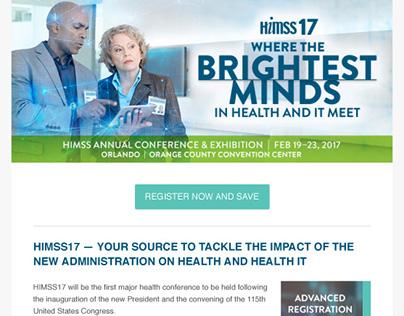 HIMSS17 Advanced Registration Email Newsletter