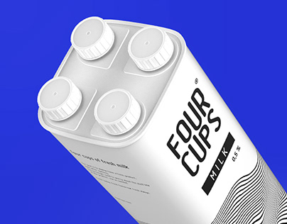 FOUR CUPS / Milk packaging