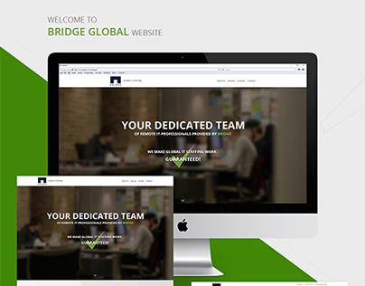 Bridge Global Website Concept