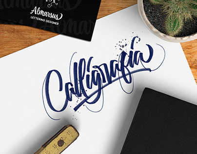 Calligraphy & Handlettering 2017 vol.1