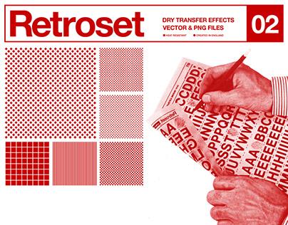 Retroset 02 - Dry Transfer Effects