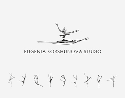 Logo for ballet studio