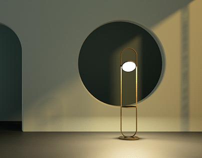 Schleife, Floor Lamp