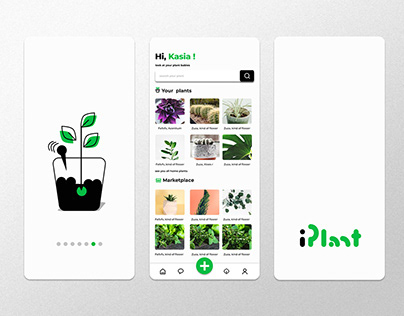 My first attempt with mobile app design | iPlant 2021