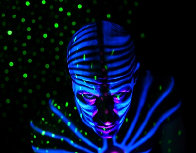 UV Bodypainting by Alienjedna
