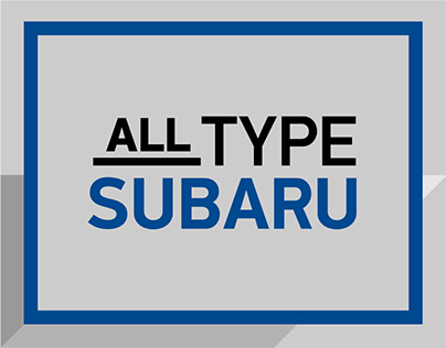 All Type Subaru
