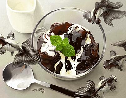 Panda Coffee Jelly