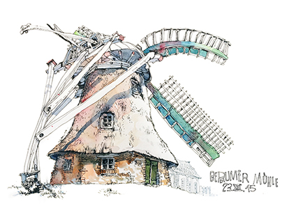 Sketches of buildings II