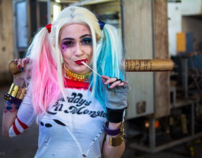 Caracterização Harley Quinn