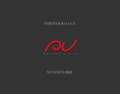 Portfolio UX/UI Maximo Libre