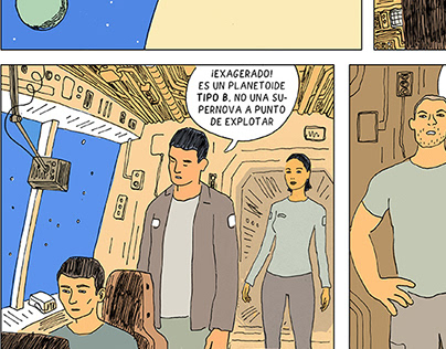 Formentera (Proyecto de novela gráfica)