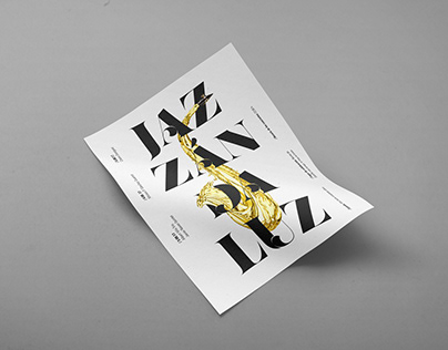 Jazzándaluz - poster and identity design