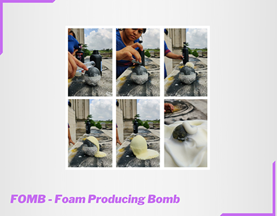 FOMB (Foam Producing Bomb)