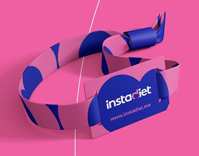 Instadiet Naming & Brand Identity Design